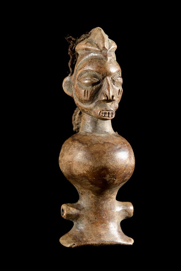 Sifflet en bois - Yaka - RDC Zaire - Aerophones
