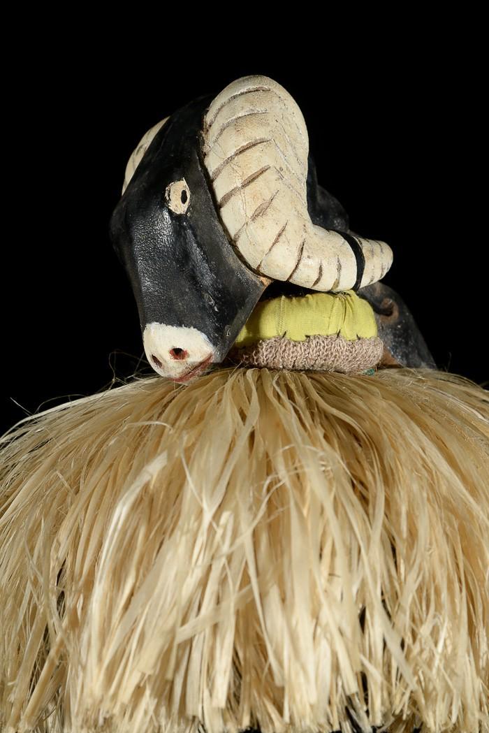 Casque cimier zoomorphe  - Bidjogo - Guinée Bissau