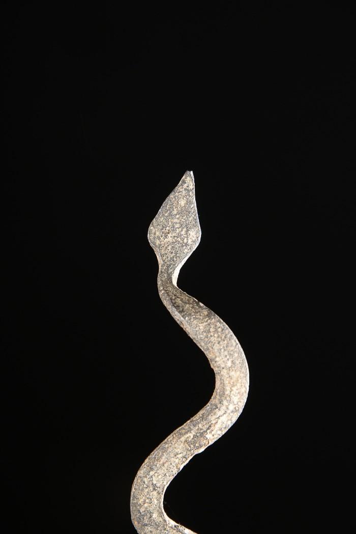 Monnaie primitive en fer noir - Fon - Bénin