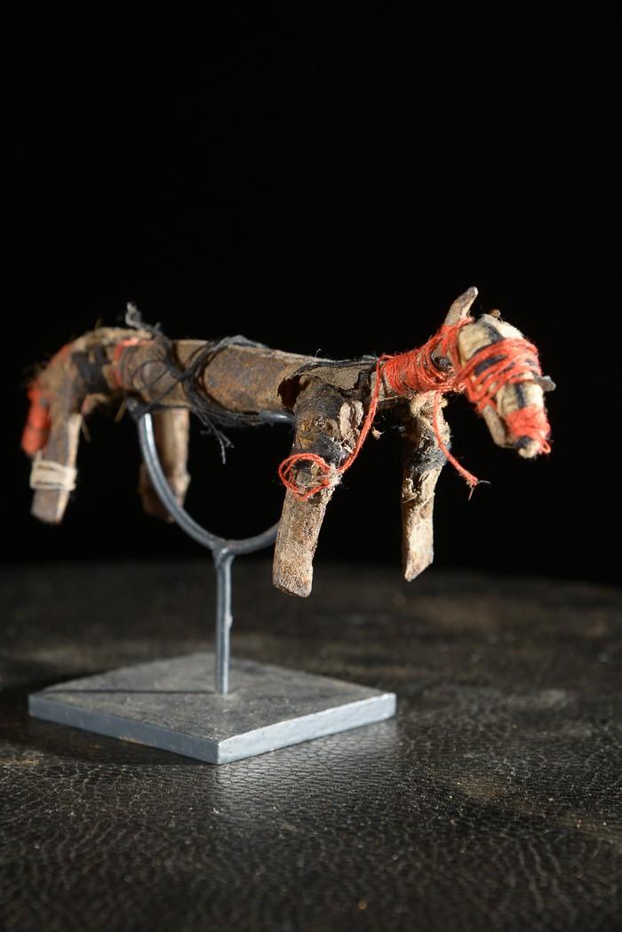 Cheval en fer noir - Mumuyé - Nigéria