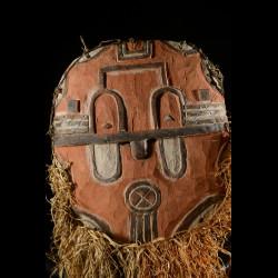 Masque facial Kidumu ancien - Teke / Tsayi - RDC Zaire