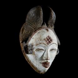 Masque Mukuyi Okuyi - Punu / Pounou - Gabon