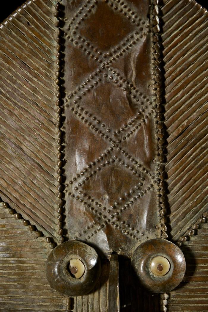 Reliquaire Bwiti - Kota / Mahongwe - Gabon - Reliquaires cuivre