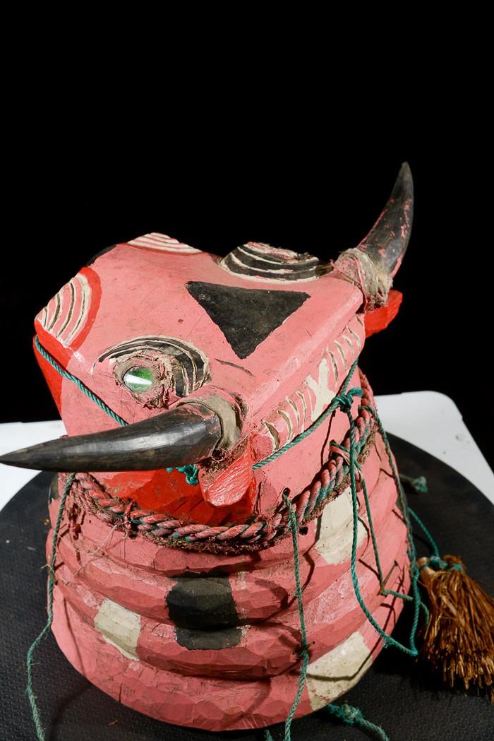 Masque Taureau Sauvage Essenie - Bidjogo / Bidyogo - Guinee Biss
