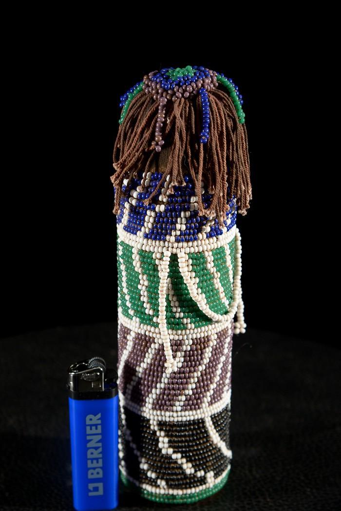 Poupée perlée Gimwane - Ntwana - Afrique du Sud