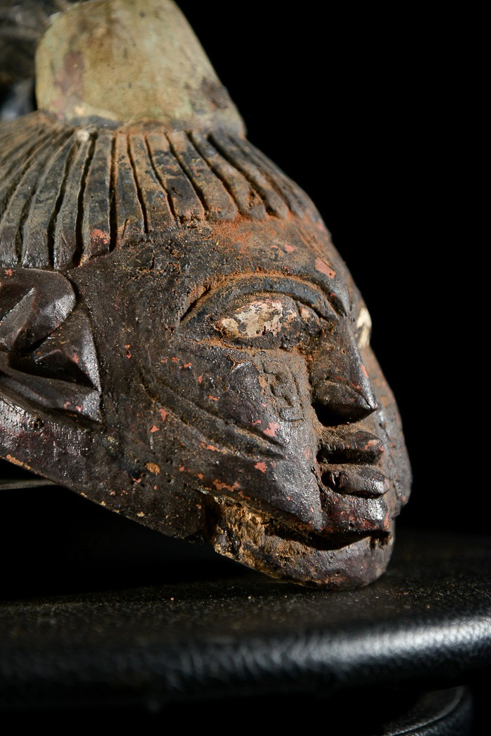 Masque ventre Gelede - Yoruba - Nigeria