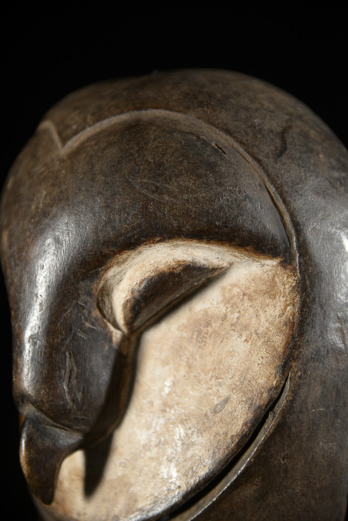 Masque facial Chouette - Nyamwezi - Tanzanie - RDC Zaire