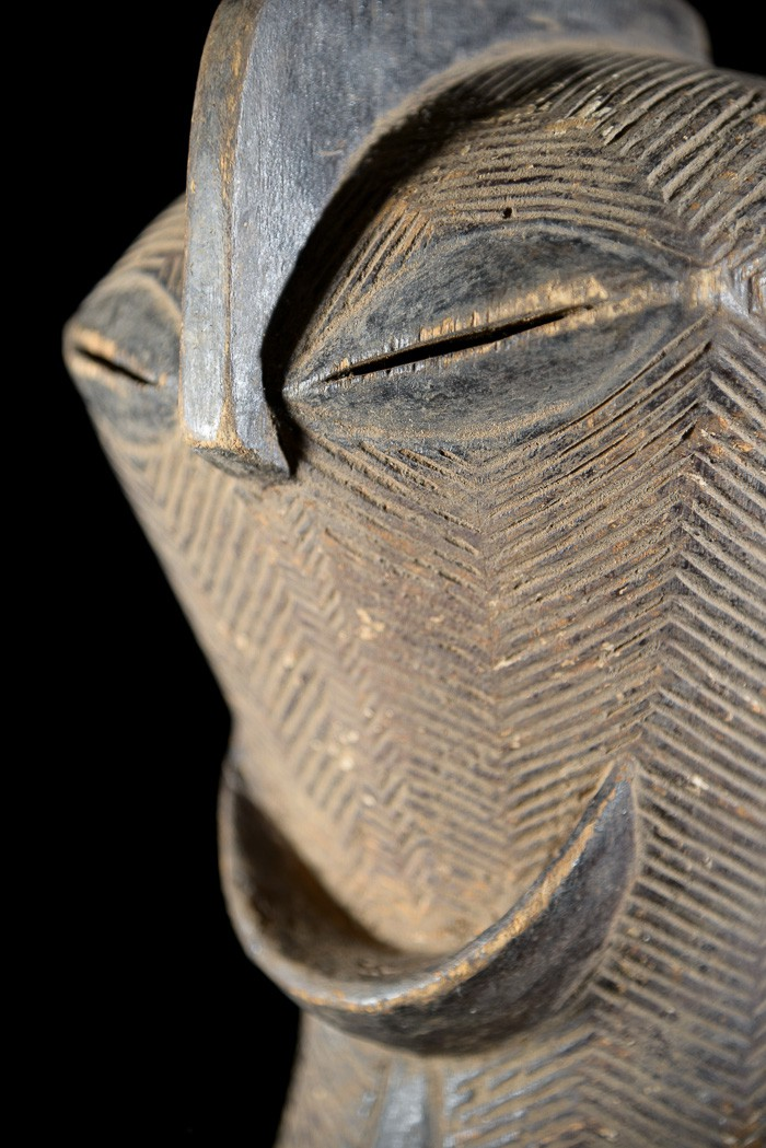 Masque Rituel Kifwebe - Luba - RDC Zaire