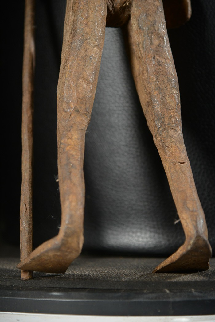 Statue Iagalagana en Fer noir - Mumuye - Nigeria - Statues africaines