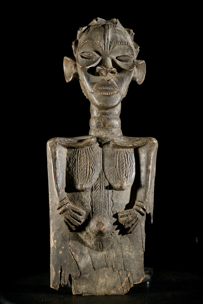 Statue Maternite Lu me - Dan / Bassa - Côte d'Ivoire / Liberia