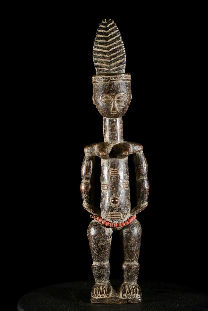 Statuette Royale - Attie - Côte d'Ivoire