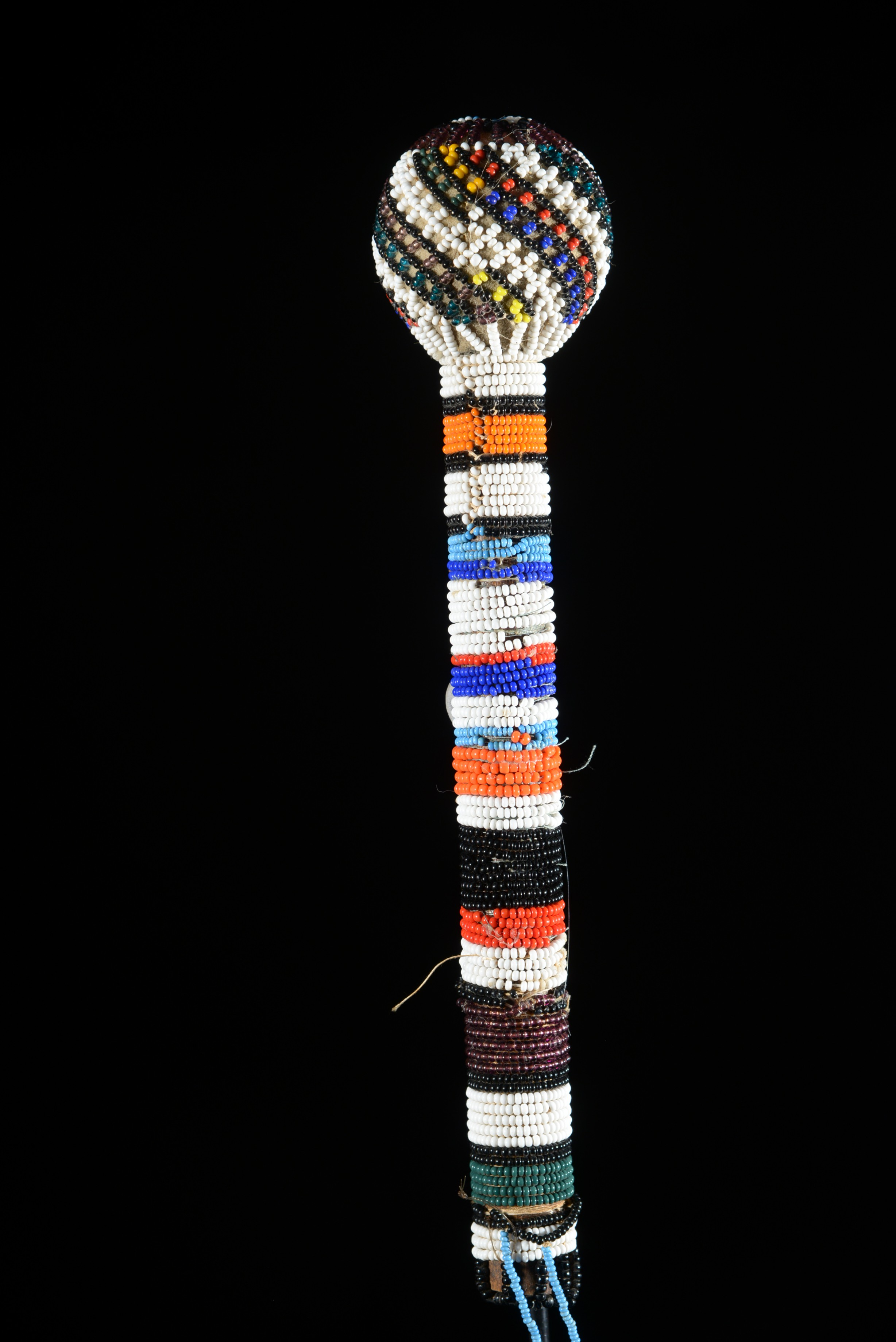 Baton Telefoni en perles - Ndebele - Afrique du Sud / Bostwana