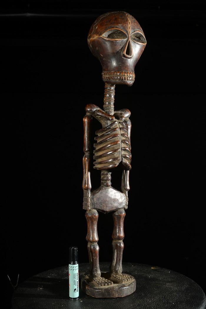 Squelette Songye Memento Mori - RDC Zaire
