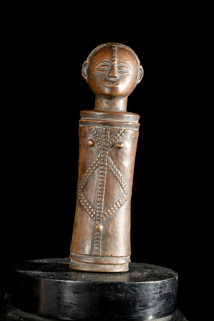 Poupée de jumeau Mpundu - Tabwa - RDC Zaire
