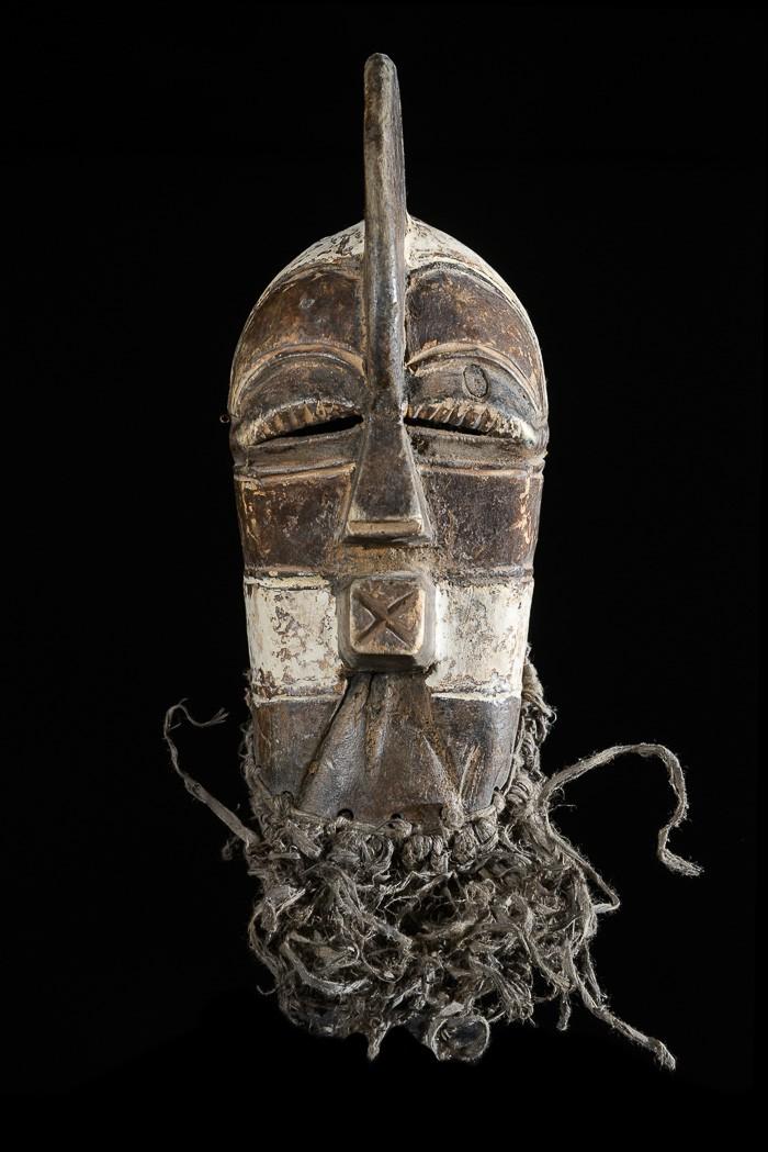 Masque passeport Kifwebe - Luba / Songye - RDC Zaire
