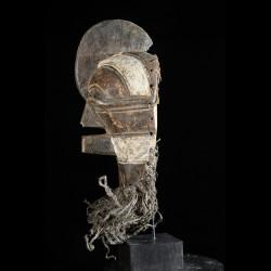 Masque Rituel Kifwebe - Luba / Songye - RDC Zaire