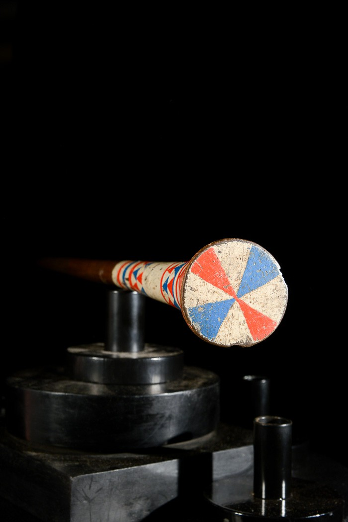 Canne polychrome Ndebele - Afrique du sud