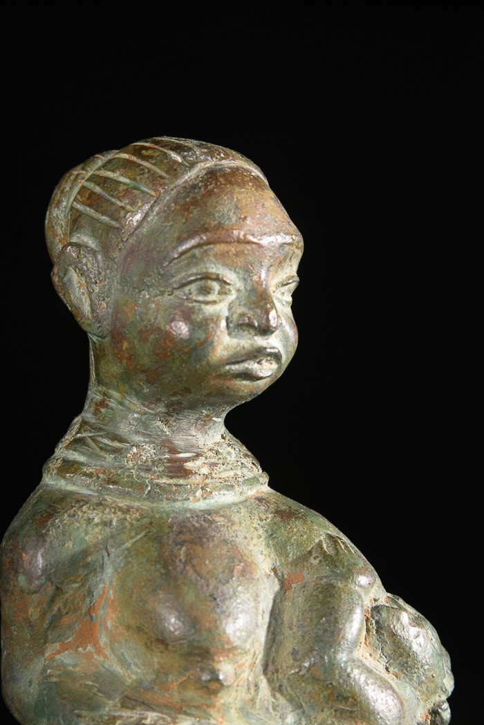 Statue maternité royale - Obolo Eke / Calabar - Nigeria