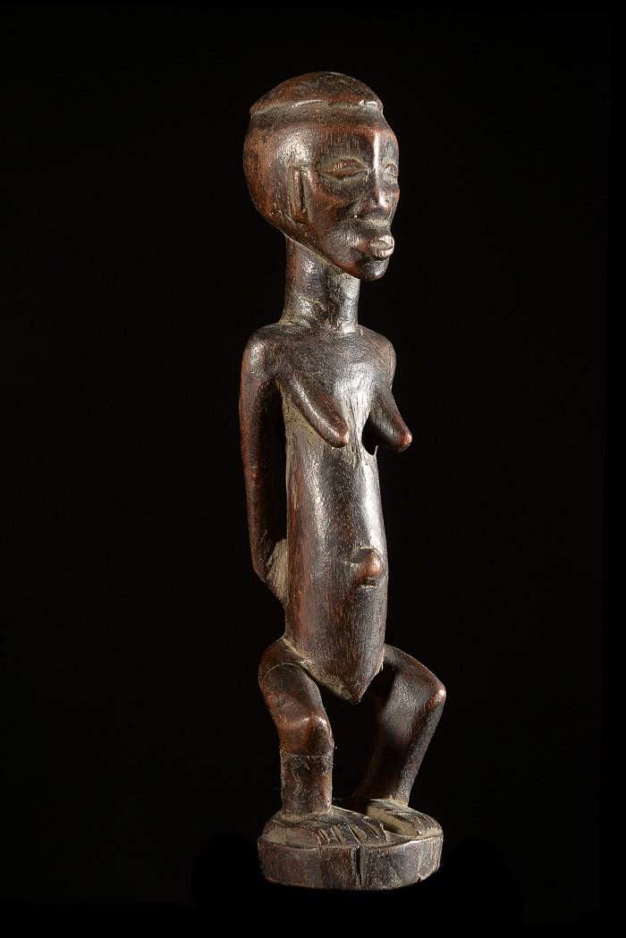Statuette Cultuelle Mikisi - Luba - RDC Zaire