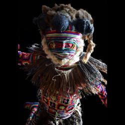 Costume Makishi Chisaluke - Luvale - Zambie