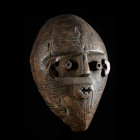 Masque de circoncision Kakongo - Metoko - RDC Zaire