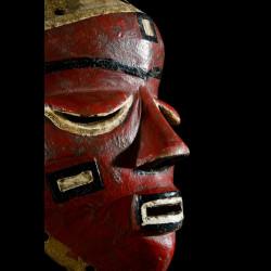 Masque Mbuya de style Katundu - Pende - RDC Zaire
