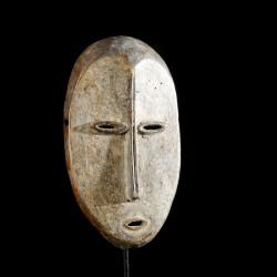 Masquette de grade Lukungu en ivoire - Lega - RDC Zaire