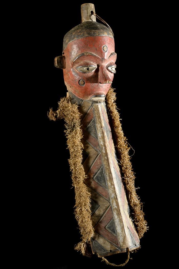Masque Mbuya Muyombo - Pende - RDC Zaire
