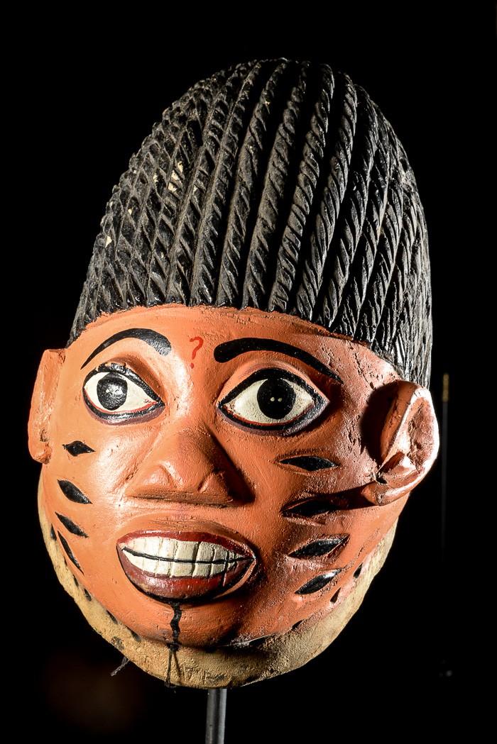 Masque ventre Gelede Twins - Yoruba - Nigeria / Benin