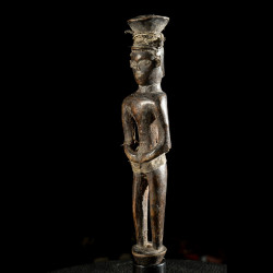 Masque ancien en ecorce - Konde / Nyakyusa - Tanzanie