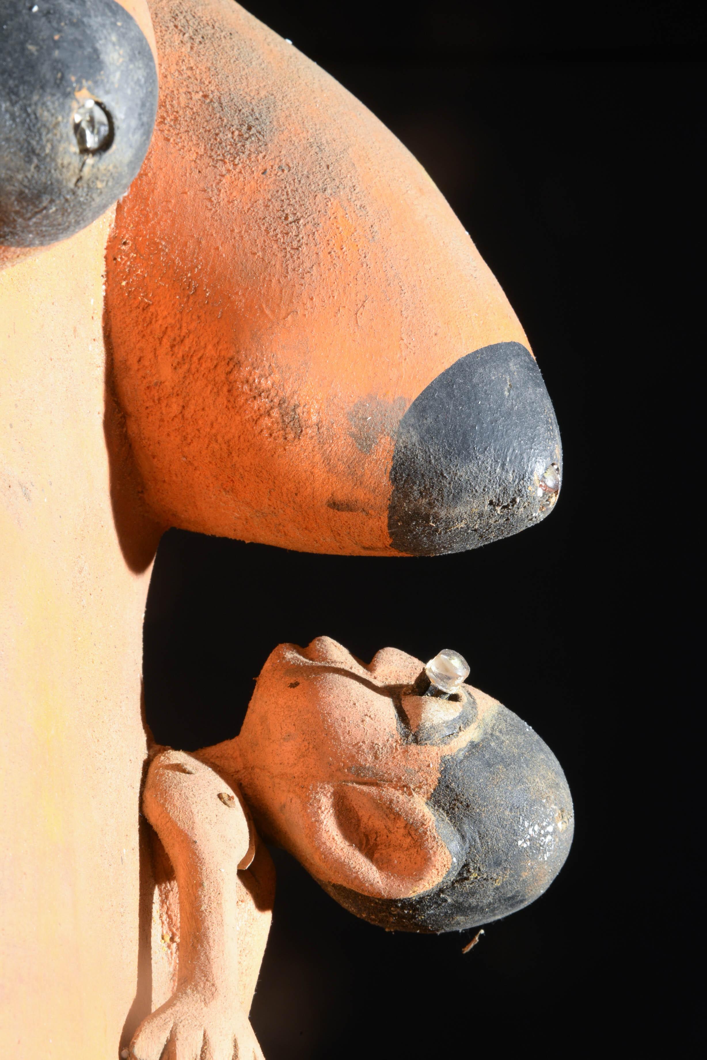 Masque ventre à LED - Yoruba - Nigeria / Benin