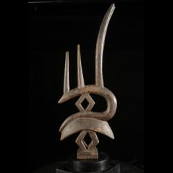 Cimier Gazelle Ti Wara / Ci Wara double - Bambara / Bamana - Mali