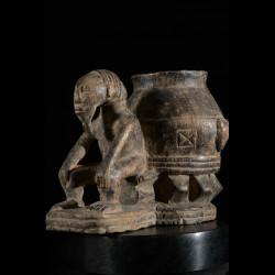 Boite oracle a souris - Gouro / Baoule - Côte d'Ivoire - Oracles