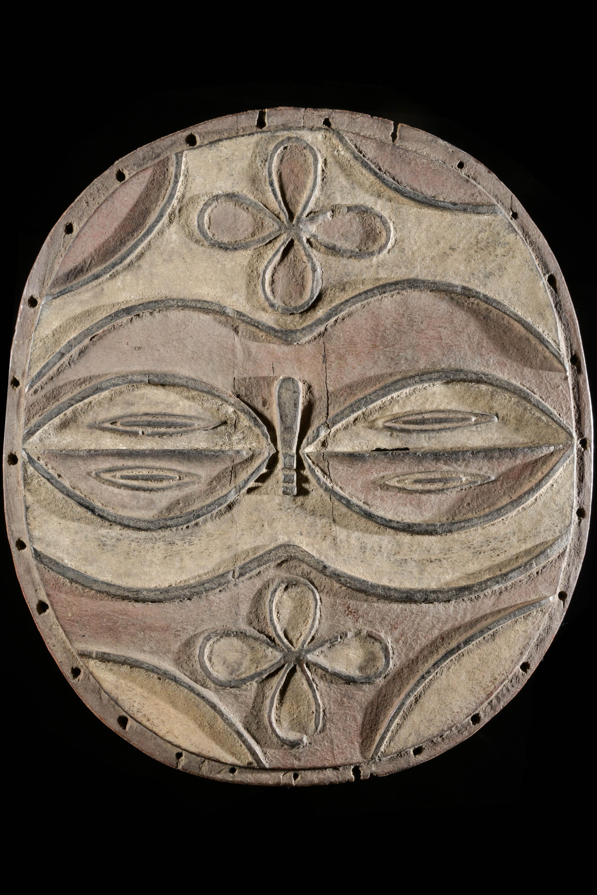 Masque facial - Teke / Tsayi - RDC Zaire