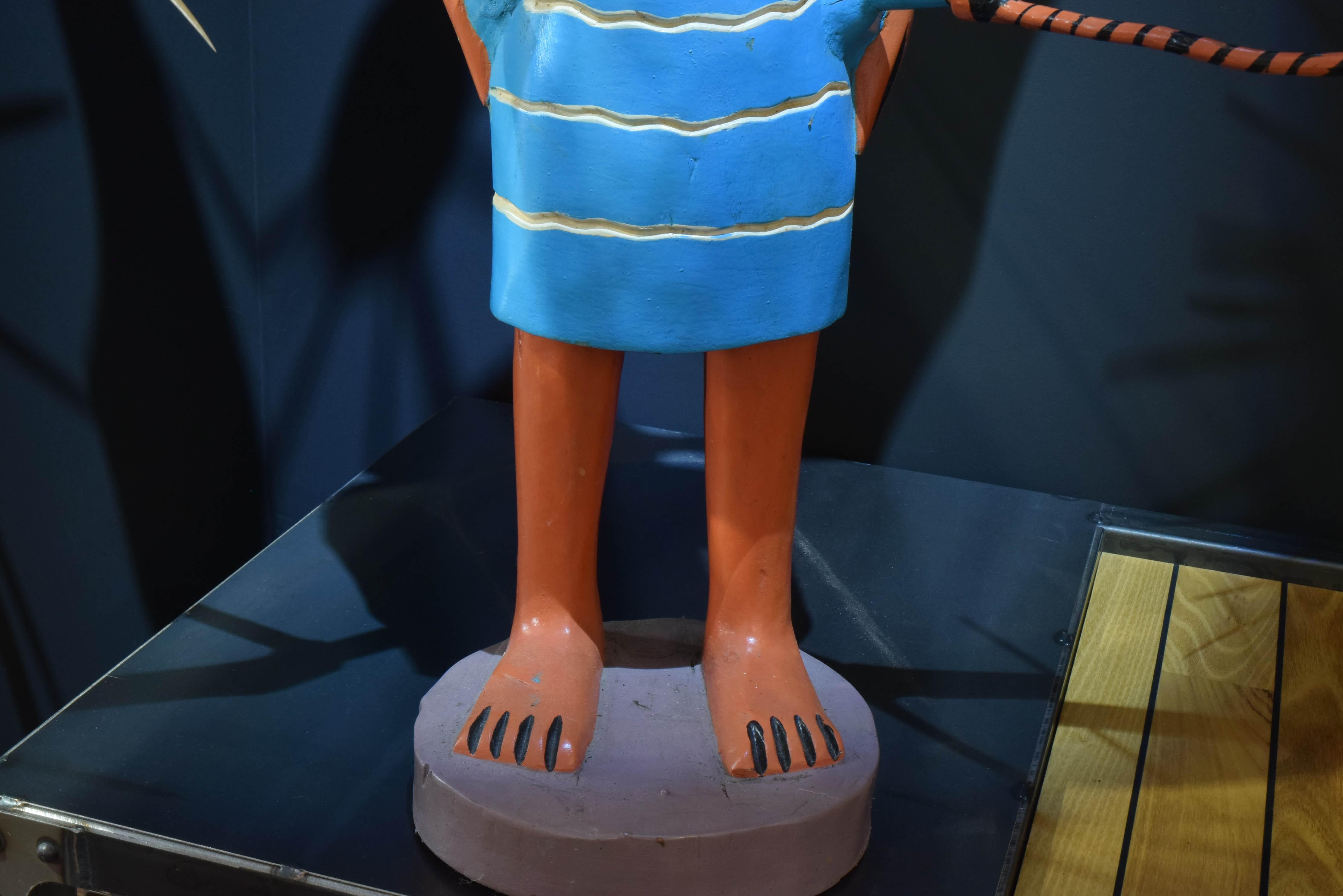 Statue John Goba
