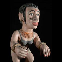 Statue squelette - MIbibio Anang - Nigeria