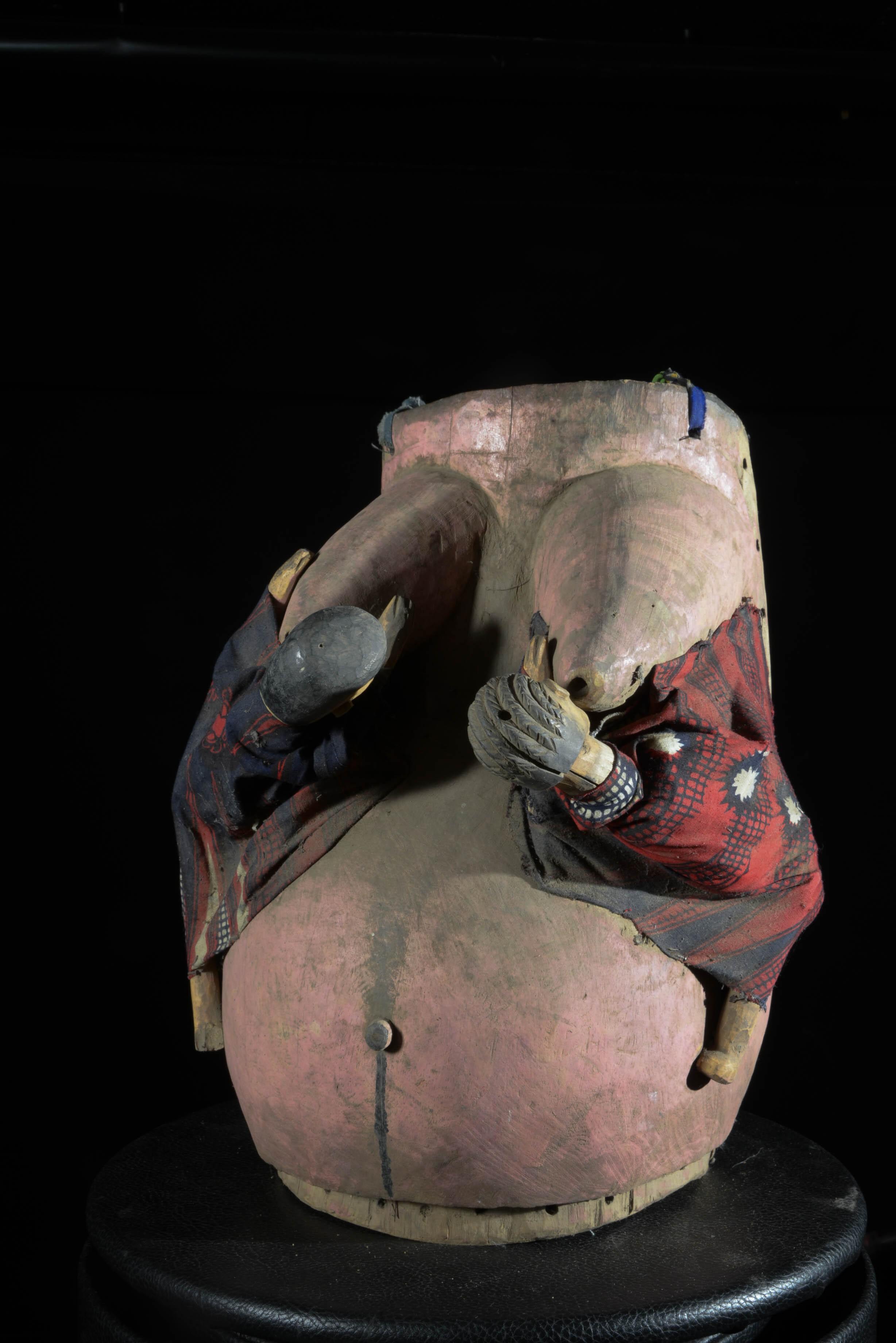 Masque ventre - Yoruba - Nigeria / Benin