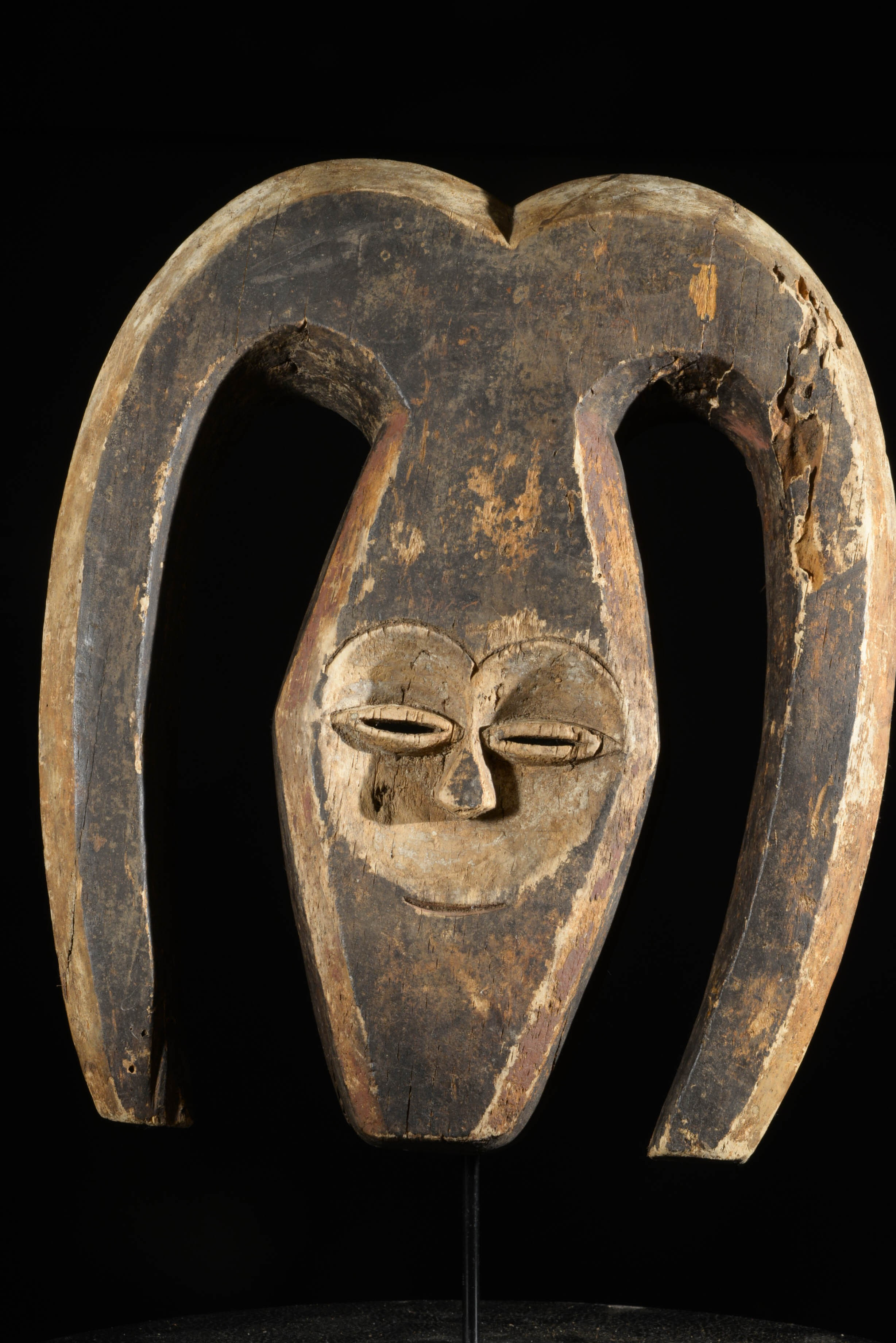 Masque Ekuk - Kwele / Bakwele - Gabon