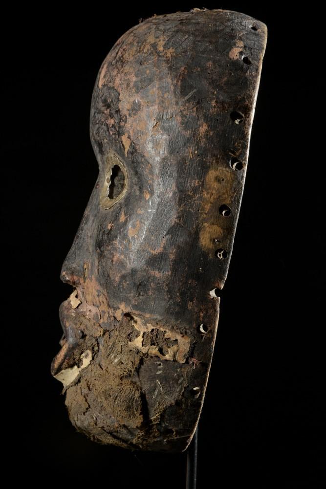 Masque ancien de course Gunye Ge - Dan Yacouba - Liberia