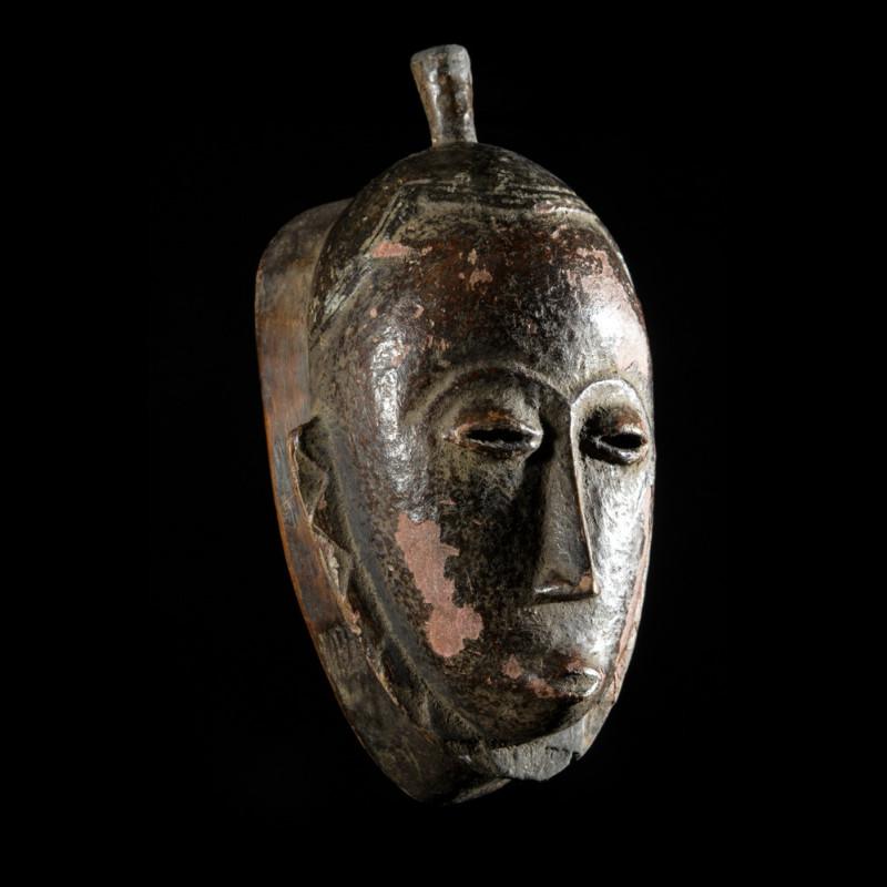Masque ancien Gou ou Gu de jeune fille - Gouro - Côte d'Ivoire