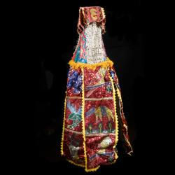 Egun - Costume de danse complet du culte Egungun - Yoruba - Benin / Nigeria