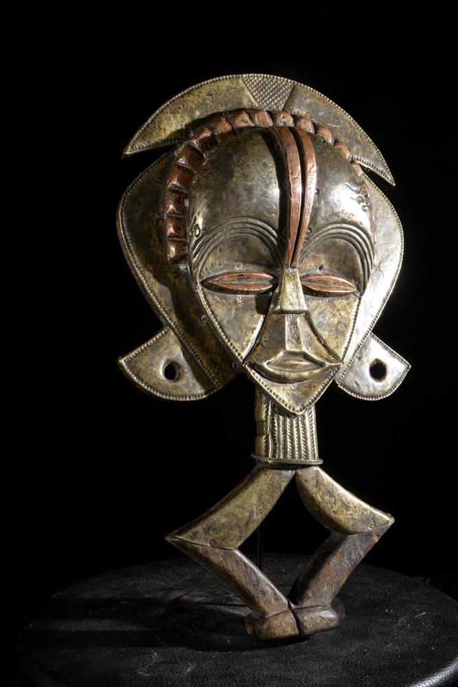 Reliquaire Bwiti en cuivre - Kota  - Gabon