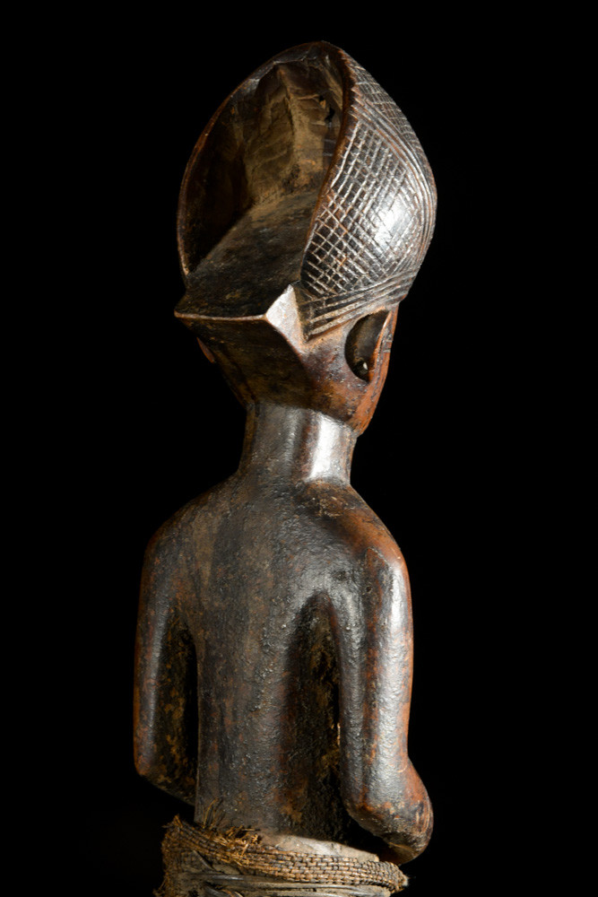 Statue cultuelle de chef - Tabwa - RDC Zaire