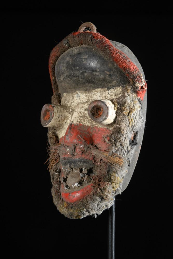 Masque de case ou de grade - Guere - Côte d'Ivoire