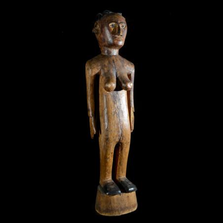 Statue féminine colon Kwere...