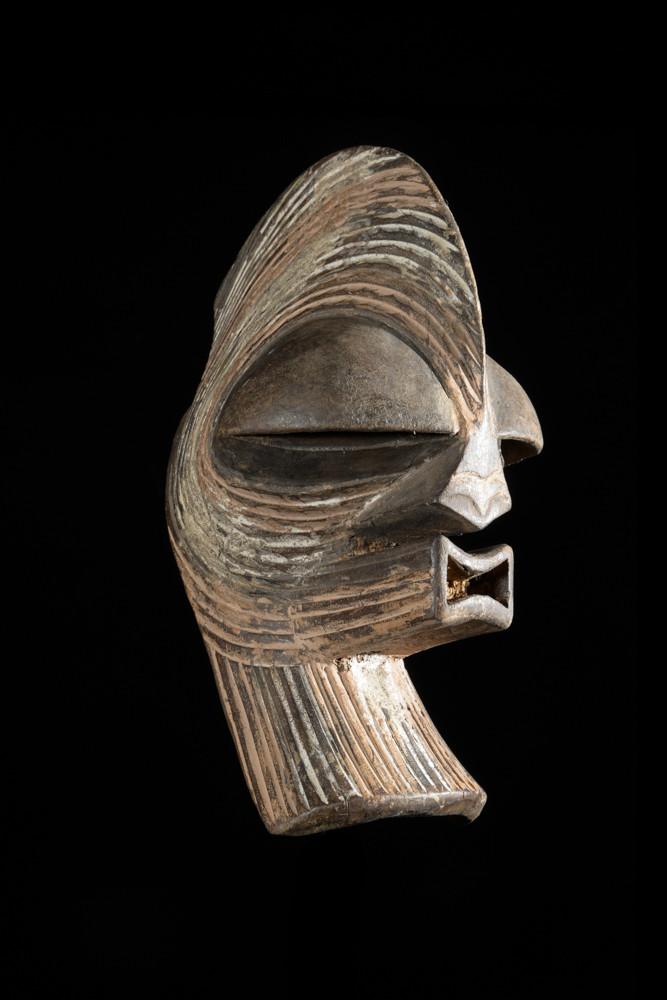 Masque passeport Kifwebe - Songye - RDC Zaire