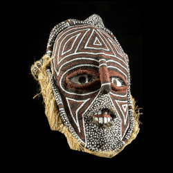 Masque Makishi polychrome -...