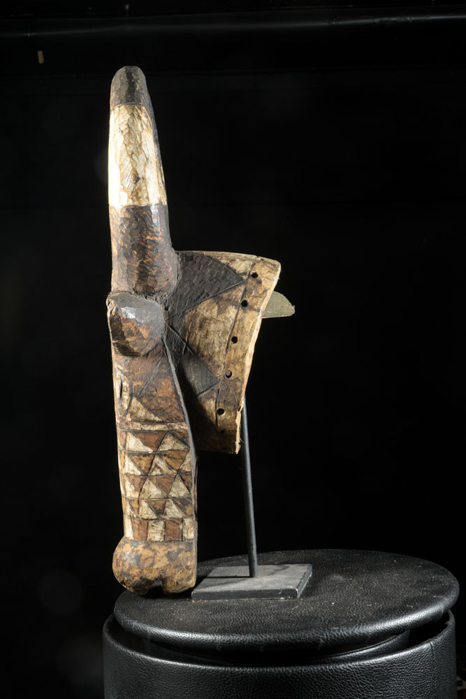 Masque Buffle Polychrome - Bwa - Burkina Faso
