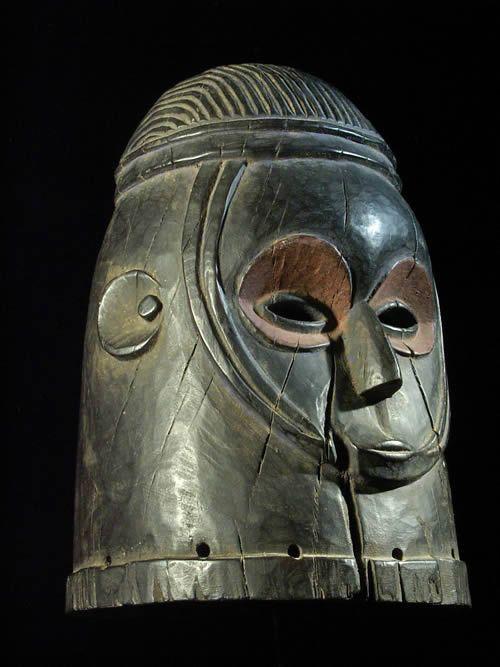 Masque casque Egu - Igala - Nigeria - Masques africains