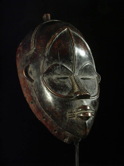 Masque ancien - Dan - Liberia - Masques africains